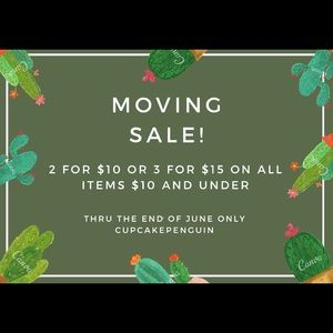 Moving Sale!